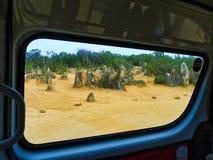 Образования известковой скалы башенк, западная Австралия стоковые фото