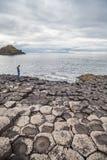 Образования мощёной дорожки гиганта вулканические Стоковое Изображение