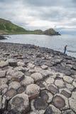 Образования мощёной дорожки гиганта вулканические Стоковое Изображение RF