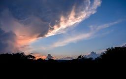 Образования облака на лагере Uruyen, Венесуэле стоковые изображения