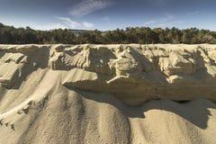 Образования песка моря стоковые фото