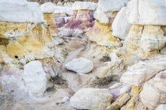 Образования размывания шахты краски Стоковая Фотография