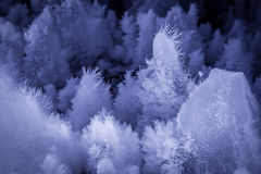 Образования льда пещеры стоковое изображение