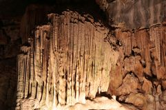Образования Cavern известняка Стоковое Изображение