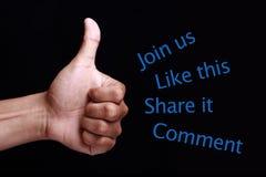 образуйте переговоры принципиальной схемы связи имея social людей средств Стоковое Изображение