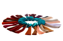 образцы волос стоковые фотографии rf
