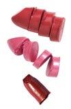образцы губной помады Стоковые Изображения RF