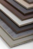 Образцы керамической плитки Стоковое Фото
