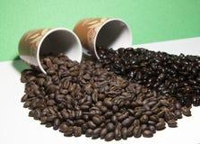 Образцы 2 кофе Стоковая Фотография RF