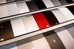 Образцы краски автомобиля Стоковые Изображения