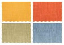 образцы ткани установили swatch Стоковая Фотография RF