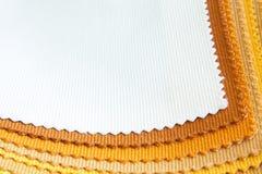 Образцы ткани цвета Стоковые Фотографии RF