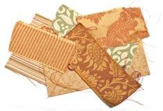 Образцы ткани Стоковые Изображения RF