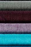 Образцы ткани стоковое изображение rf