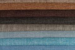 Образцы ткани стоковые фото