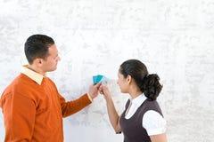 Образцы цвета рудоразборки пар Стоковая Фотография