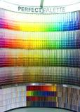 образцы цвета Стоковые Фотографии RF