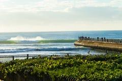 Образ жизни спорт океана пристани пляжа Стоковое Изображение