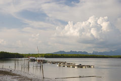 Образ жизни южный Таиланд Стоковое фото RF