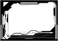 обрамите высокотехнологичное Стоковое Изображение RF