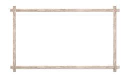 обрамите древесину Стоковое Изображение RF