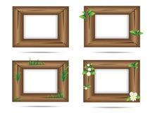 обрамите древесину Стоковые Изображения