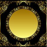 обрамите ретро круг Стоковое Изображение