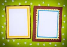 обрамите сделанную бумагу Стоковое Изображение RF