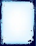 обрамите splatter чернил Стоковые Изображения RF