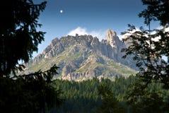 обрамленная гора Стоковое фото RF