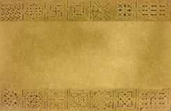 обрамленная средневековая текстура орнаментов Стоковые Изображения RF