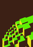 обрамленные блоки Стоковые Фото