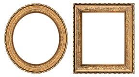 обрамляет изображение золота Стоковое Изображение
