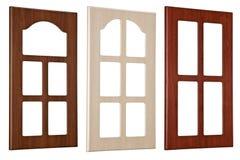 обрамляет окно Стоковые Изображения