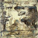 обрамляет grungy акварель handmade бумаги стоковое изображение