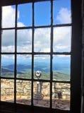 Обрамленная съемка na górze горы Whiteface Стоковые Фотографии RF