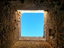 обрамленное небо Стоковое Фото
