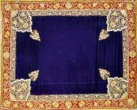 Обрамлять и искусство ткани стоковое фото rf