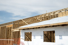 Обрамлять древесины здания Стоковая Фотография
