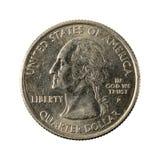 1 обратный 2008 Аризоны монетки квартала Соединенных Штатов стоковое изображение