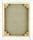обратный холстины Стоковая Фотография RF