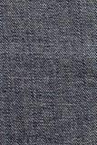 Обращенная голубая предпосылка текстуры ткани демикотона Стоковые Изображения