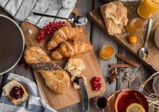 доброе утро завтрака Стоковая Фотография