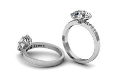 Обручальное кольцо красотки Стоковые Фотографии RF