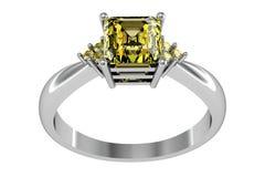 Обручальное кольцо красотки Стоковые Изображения
