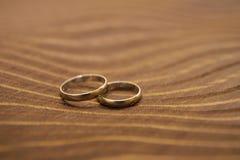 Обручальные кольца Стоковое Изображение RF
