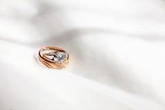 Обручальные кольца Стоковое Фото