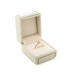 Обручальное кольцо в подарочной коробке Стоковое Изображение