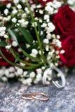 Обручальные кольца Стоковая Фотография