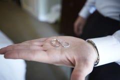 Обручальные кольца Стоковое фото RF